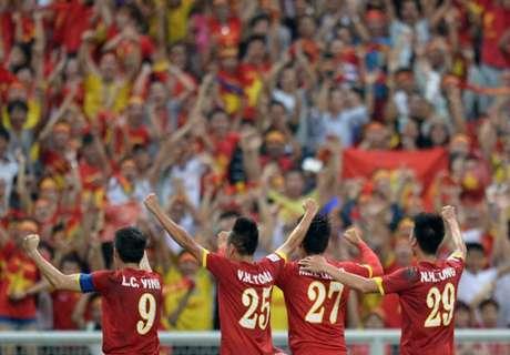 เวียดนามดุยิงมาเลย์ยับ 5-1 แซงไทยขึ้นจ่าฝูงซีเกมส์
