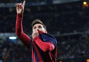 Lionel Messi (Barcelona). 79 goles en 101 partidos (0,77%).