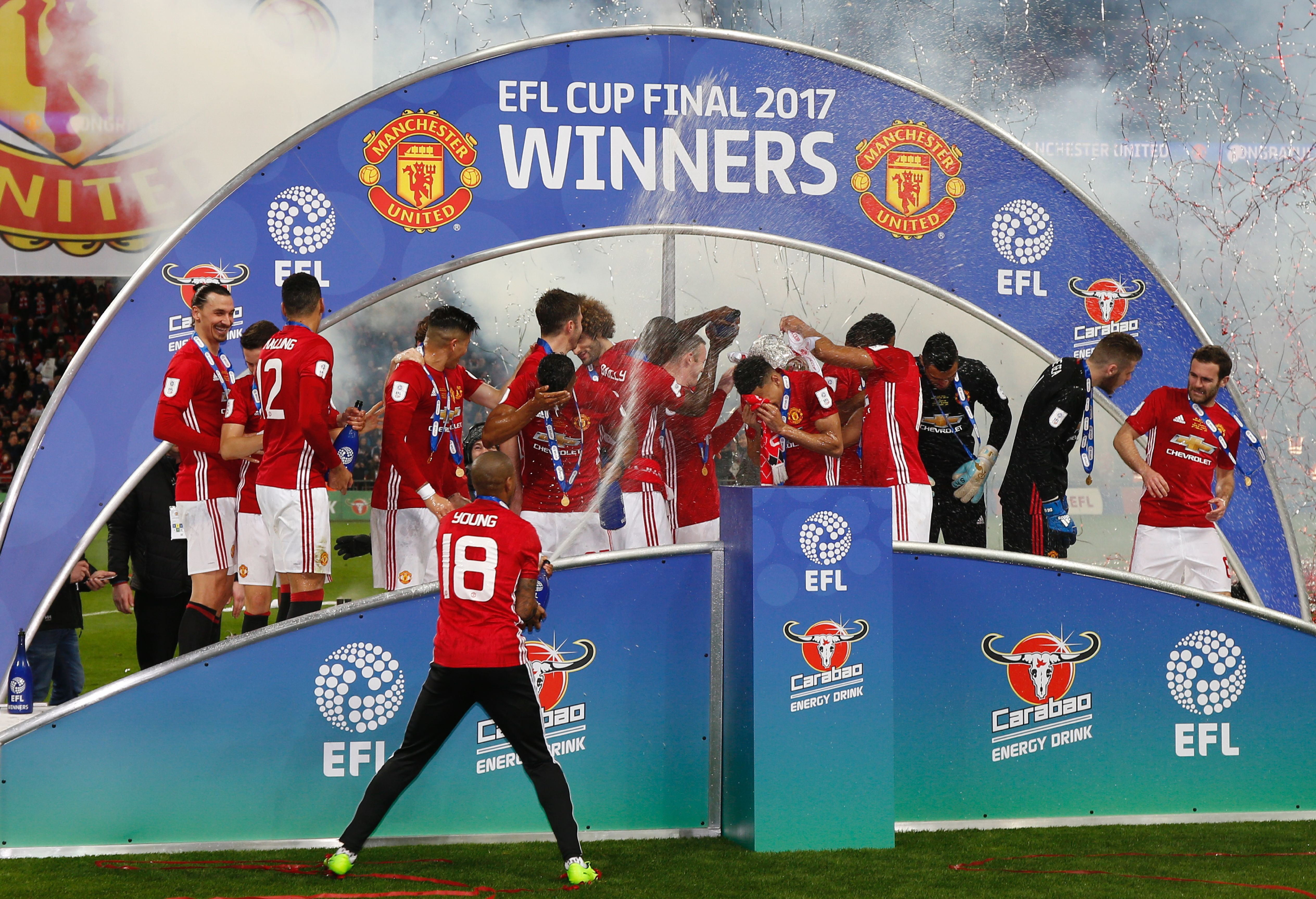 Manchester United EFL Cup Winners 2017
