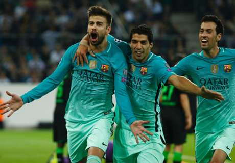 Ratings: Gladbach 1-2 Barcelona