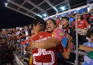 เมืองทอง ยูไนเต็ด เฉือนชนะ บุรีรัมย์ ยูไนเต็ด 1-0 ในศึกฟุตบอลเยาวชนรุ่นอายุไม่เกิน 19 ปี ป้องกันแชมป์เป็นสมัยที่สองได้สำเร็จ ที่สนามธูปะเตมีย์ โกล ประเทศไทย รวบรวมภาพบรรยากาศการฉลองแชมป์มาให้ชมกันเช่นเคย