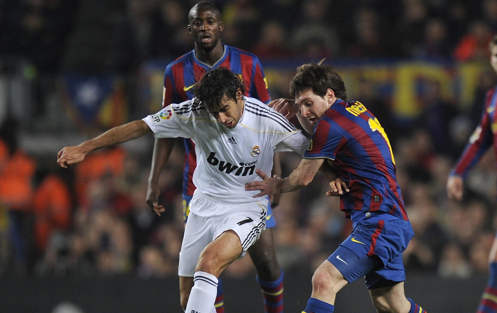 Raul Gonzalez & Lionel Messi