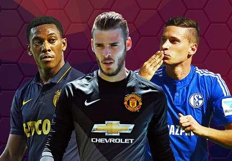 PSG, Monaco, Real, Chelsea : c'est le point mercato des grands clubs européens