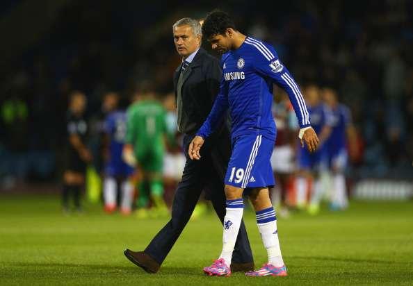 Jose Mourinho - Diego Costa