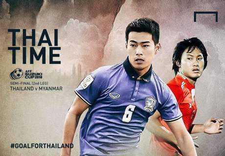 AFF Suzuki Cup : ไทย - เมียนมา
