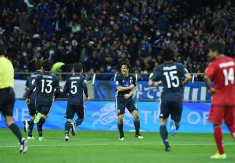 โอคาซากิซัดเปิด! ญี่ปุ่น ฟอร์มหรูฟัน อัฟกานิสถาน5-0