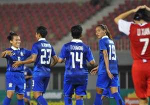 ฟุตบอลหญิง - ไทย 8-0 สิงคโปร์
