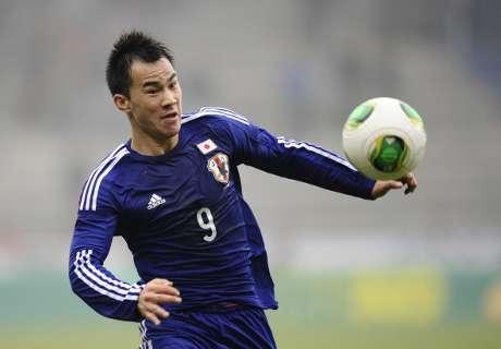 Okazaki trifft wieder für Japan