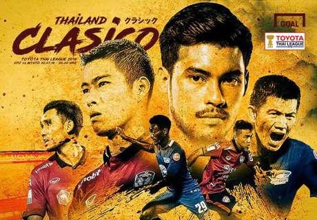 Toyota Thai League : ชลบุรี เอฟซี - เมืองทอง ยูไนเต็ด