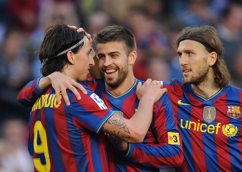 Zlatan Ibrahimovic & Gerard Pique