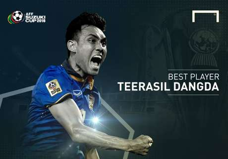 Goal AFF 2016 Best Player: Teerasil Dangda