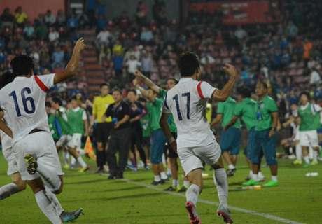 ลุ้นต่อ!ช้างศึกพ่ายโสมขาว1-2 AFC U-19