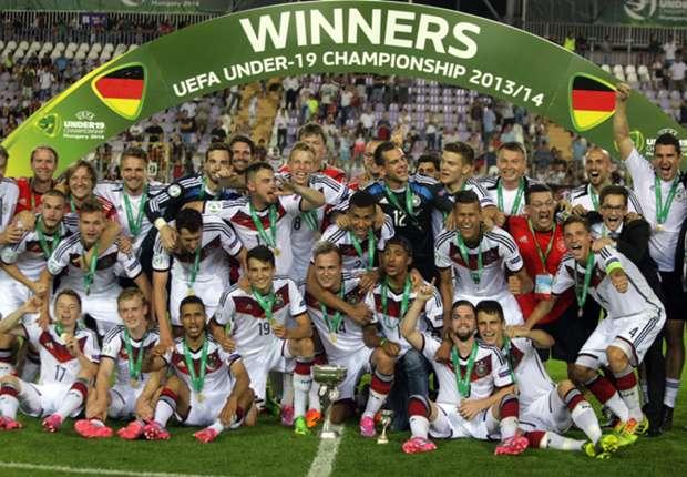 Team mit Zukunft: Deutschlands U 19 holte sich in Budapest den Junioren-EM-Titel