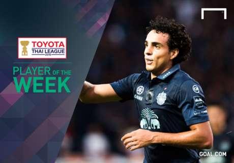 Toyota Thai League Player of the Week 23 : ดิโอโก้ หลุยส์ ซานโต้