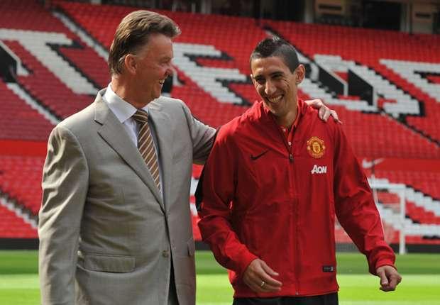 Louis Van Gaal & Angel Di Maria, Manchester United