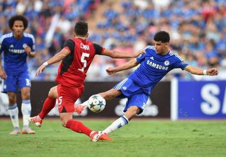 Chelsea edge to victory in Thailand
