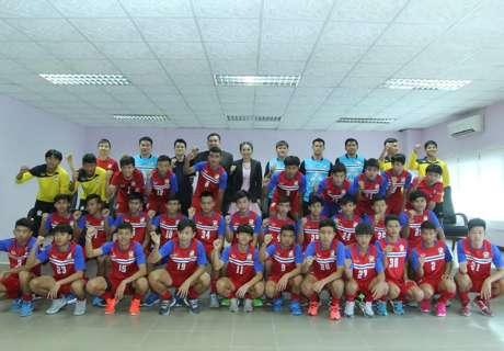 ไทย-U16 แบโผ 23 รายชื่อชุดลุยคัดเลือกเอเชีย