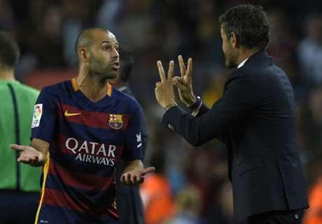 Barcelona, en manos de Mascherano
