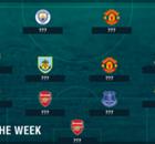 PL Team of the Week 2016-2017 สัปดาห์ที่ 2