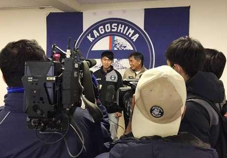 สื่อคับคั่ง! สิทธิโชคสมทบคาโงชิมา ลุ้นดวลเกือกสามทีมเจลีก ปรีซีซั่น