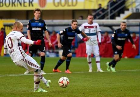 Alemão: Paderborn 0 x 6 Bayern