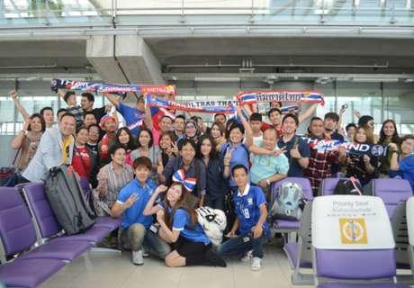 กำลังใจช้างศึก!แฟนไทยรวมตัวบุกฮานอยคาดเฉียด1,000คน