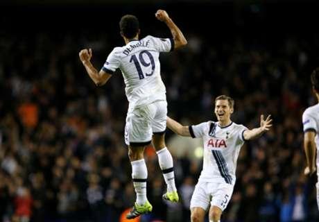 Tottenham recuperó la punta