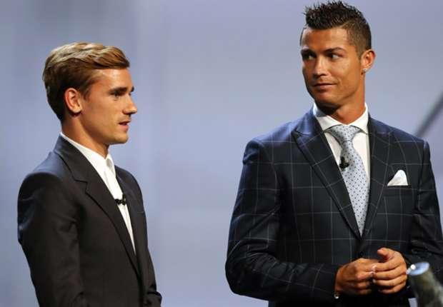 Antoine Griezmann & Cristiano Ronaldo
