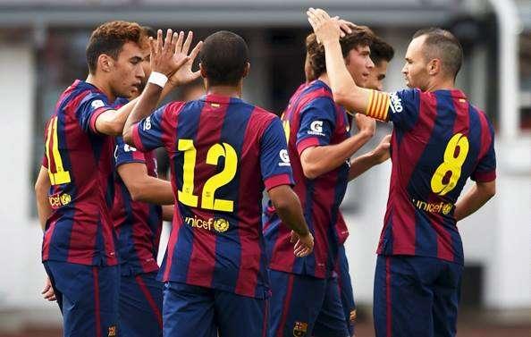 HJK Helsinki 0-6 Barcelona: Lluvia de goles para disipar las dudas