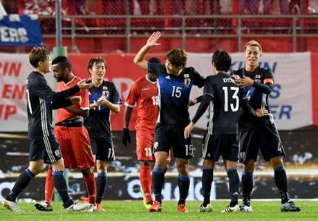 ก่อนดวลซาอุ! ญี่ปุ่นอุ่นเฉียบถล่มโอมาน 4-0 ซิวคิรินชาเลนจ์คัพ