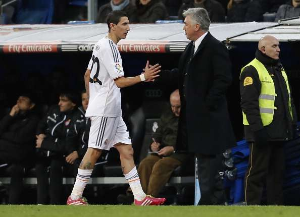 Di Maria has requested a transfer, confirms Ancelotti