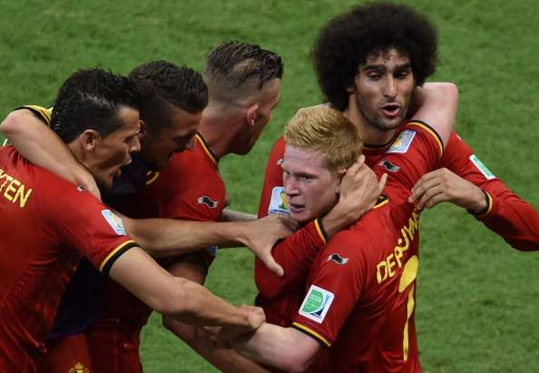 Bélgica sufrió demasiado para derrotar a Estados Unidos.