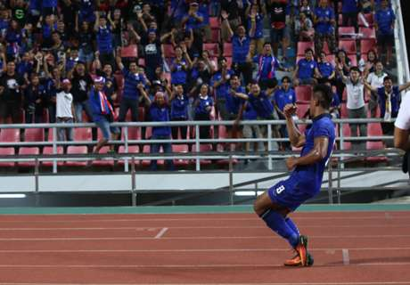 FT: Thailand 4-0 Myanmar (agg 6-0)