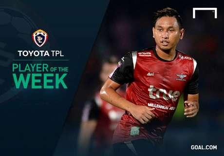 Toyota TPL Player of the Week 17 : รณชัย รังสิโย
