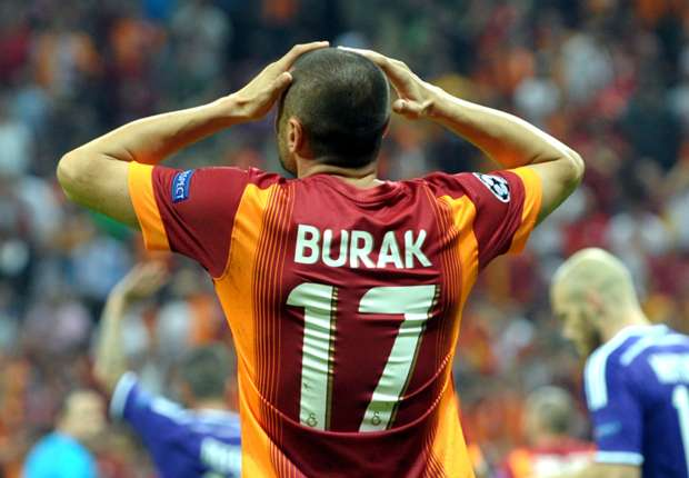 Galatasaray 1-1 Anderlecht: Late Burak goal saves point for hosts