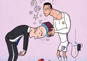 19 ENE | Zinedine Zidane y Cristiano Ronaldo necesitan recargar pilas. El Real Madrid sumó su segunda derrota consecutiva tras los 40 partidos sin perder.
