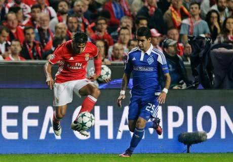 UCL: Benfica 1-0 DInamo Kiev
