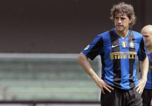 Hernán Crespo (Inter, Milan y Chelsea). 25 goles.