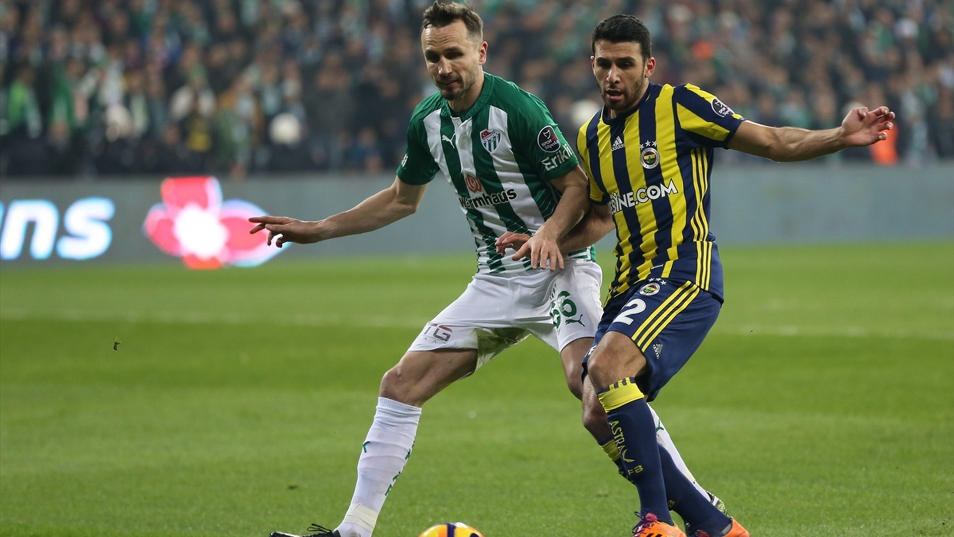 Tomas Sivok Ismail Koybasi Bursaspor Fenerbahce 1122017