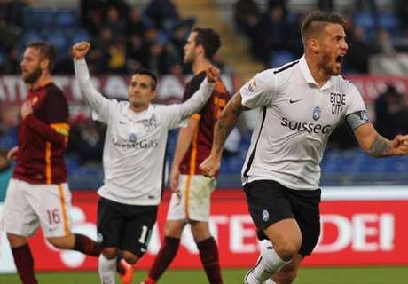 Italiano: Roma 0 x 2 Atalanta