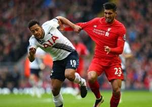 Moussa Dembele Emre Can Tottenham Liverpool 02042016