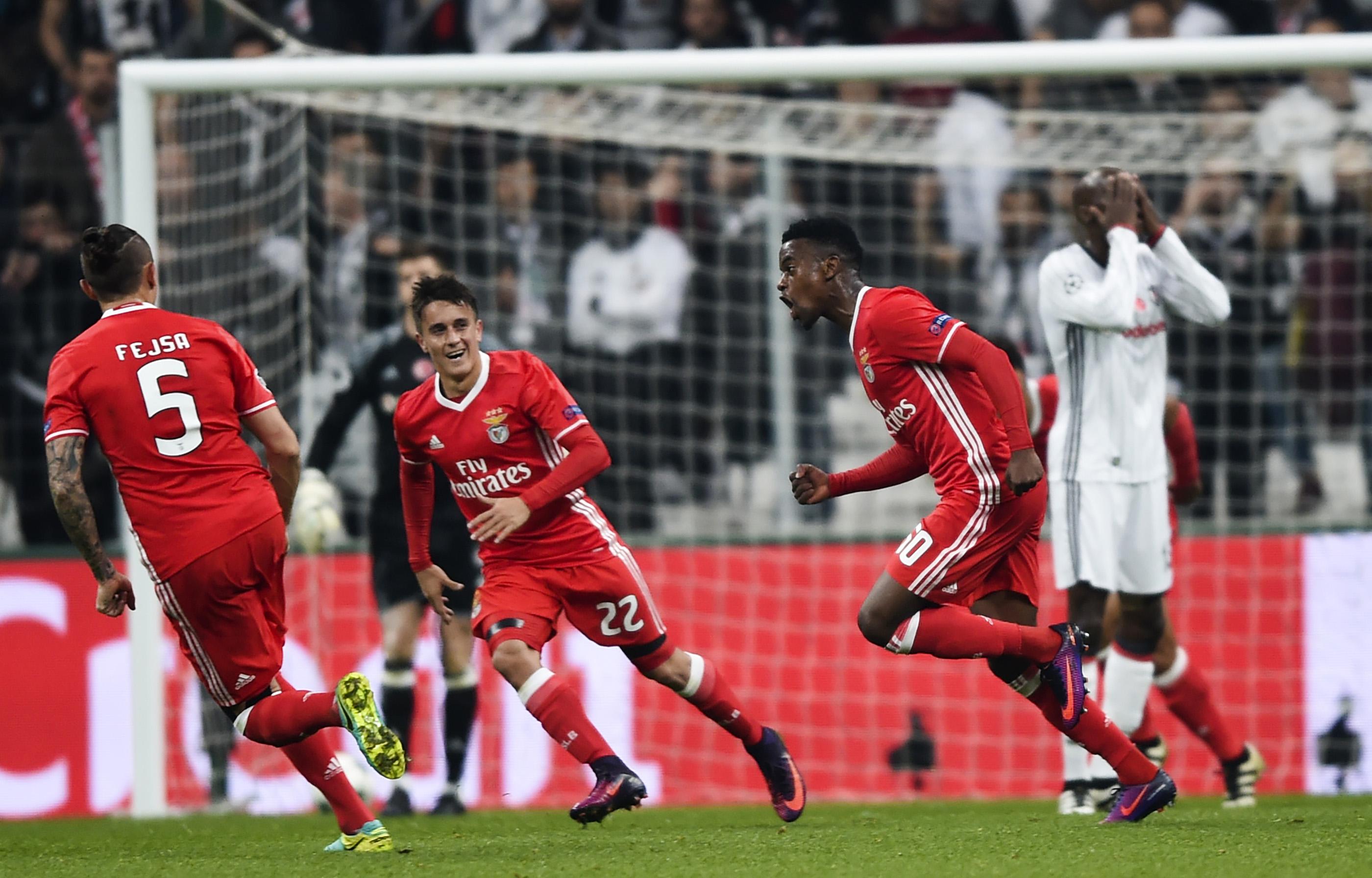 Besiktas Benfica UCL 11232016