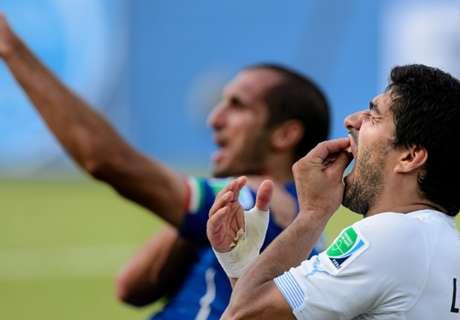 Chiellini: Suarez bite in the past