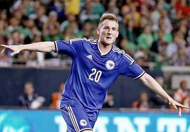 Izet Hajrovic war bei der WM für Bosnien-Herzegowina im Einsatz