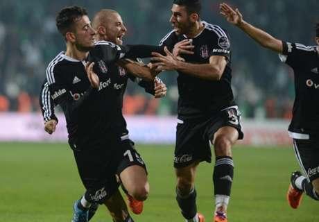 Süper Lig: Besiktas wieder vorn