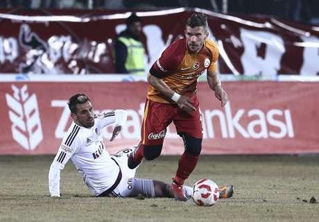 Podolski, cinco goles en menos de una hora