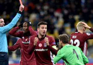 03.12.2016: Fenerbahçe 0-0 Beşiktaş --> 06.12.2016: Dinamo Kiev 6-0 Beşiktaş