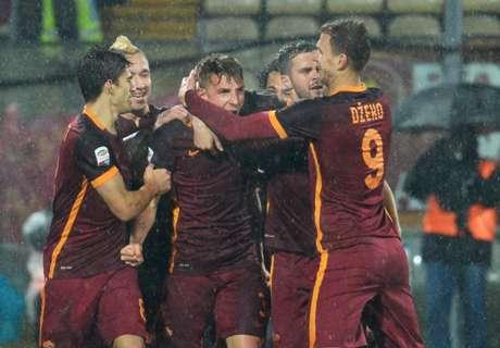 Roma Raih Empat Kemenangan Beruntun