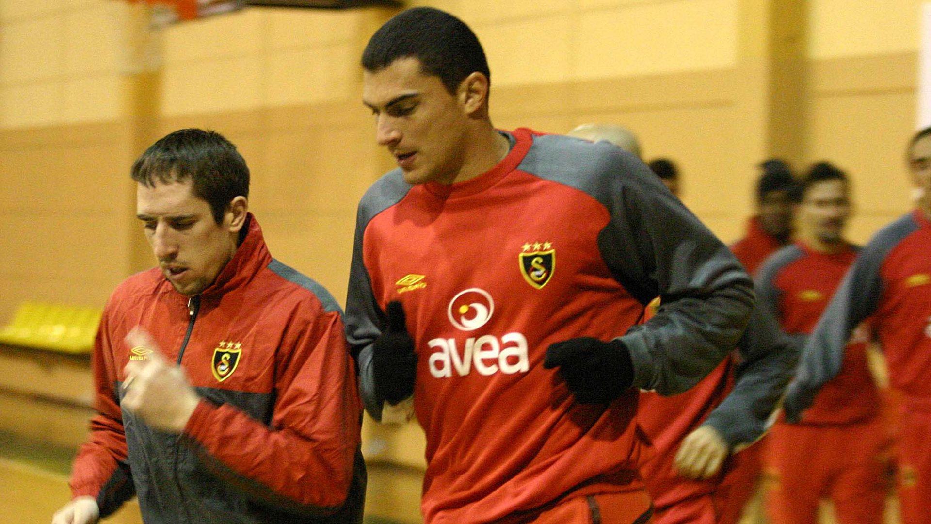 Faryd Mondragon Franck Ribery Galatasaray nostalgia