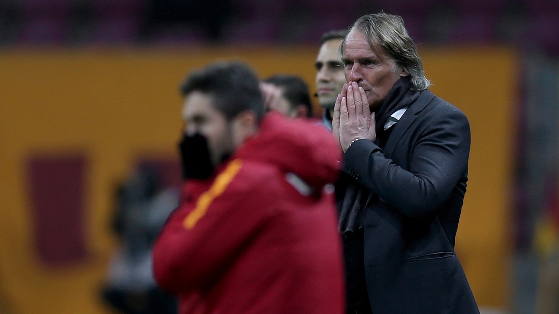 Galatasaray coach Riekerink 12022017